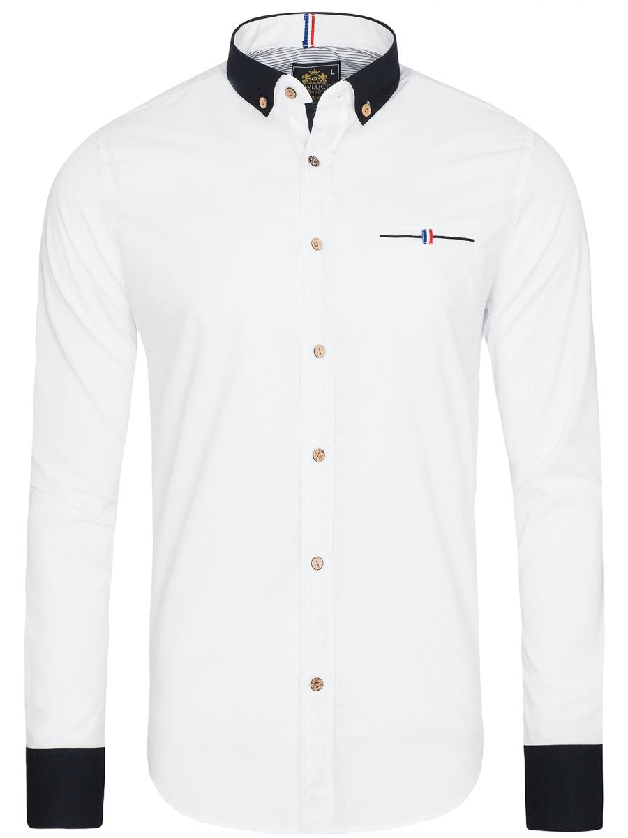 Biela pánska košeľa