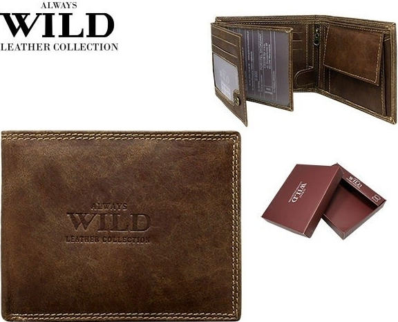 pánska kožená peňaženka WILD
