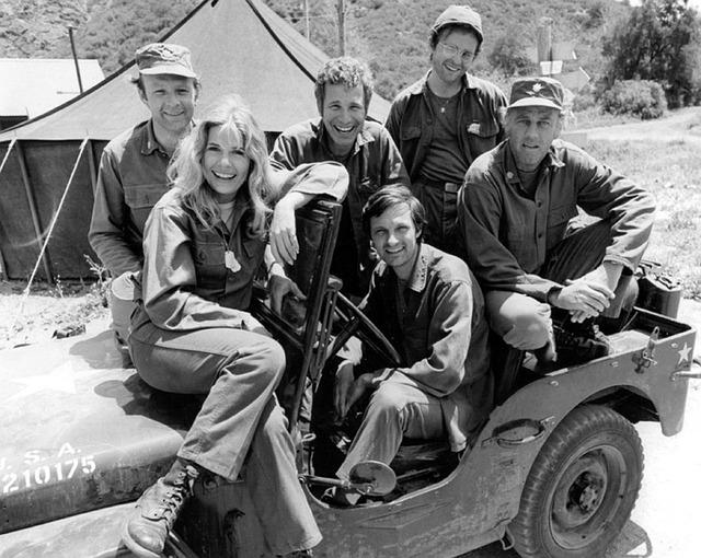 postavy z filmu M.A.S.H.