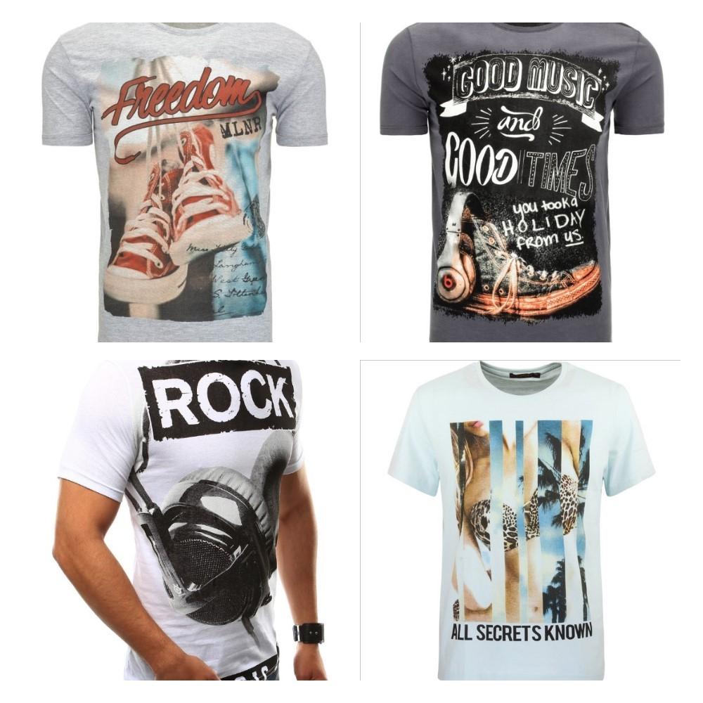 pánske tričká s krátkym rukávom