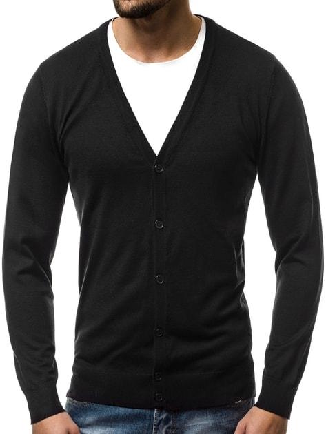 16802164e789 Elegantný sveter OZONEE BL M5600 čierny - Budchlap.sk