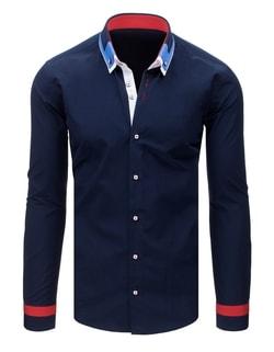 ... Fantastická granátová pánska košeľa ... 8317efbca7