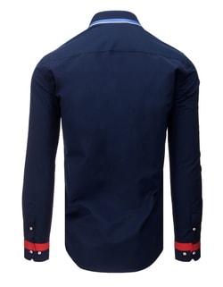 ... Fantastická granátová pánska košeľa cd4b9a4899f