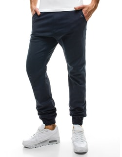 Tmavo-modré chino joggery ATHLETIC 449