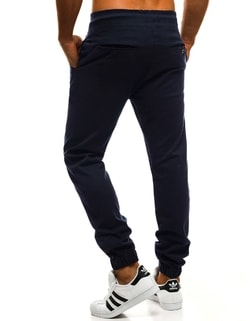 Tmavo-modré chino joggery ATHLETIC 399