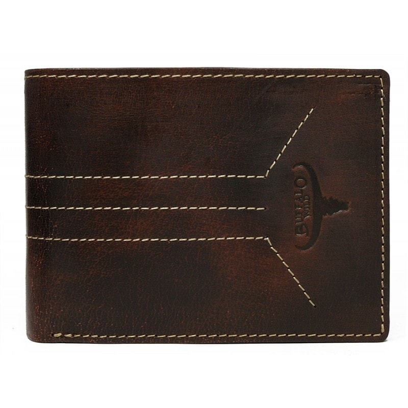 Jedinečná hnedá pánska peňaženka Buffalo Wild - Budchlap.sk 0925b3e70f0