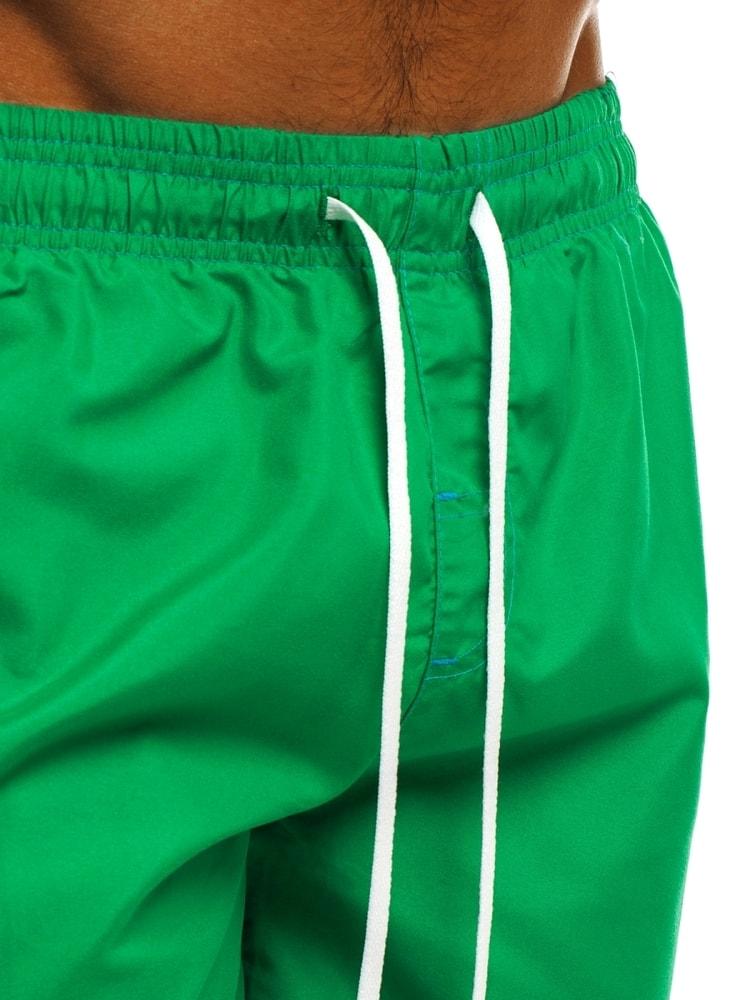 Zelené pánske plavky s vreckami MHM 245 - Budchlap.sk 77a311ed0c