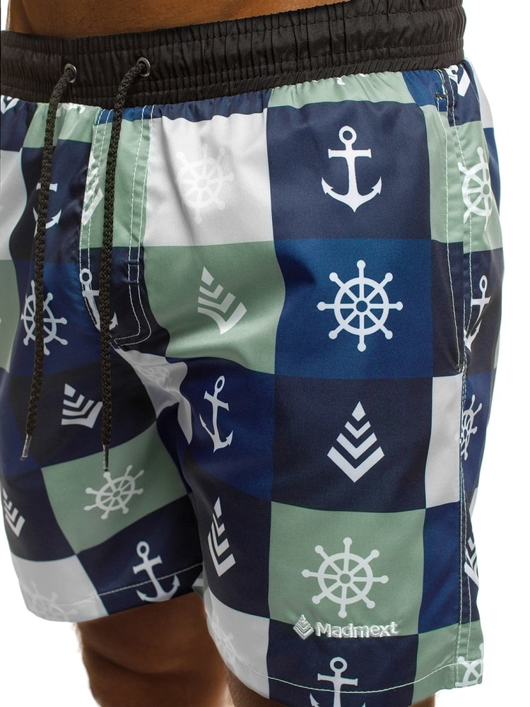 Námornícke pánske plavky v granátovej farbe MAD 2371 - Budchlap.sk 015ab0bbd3