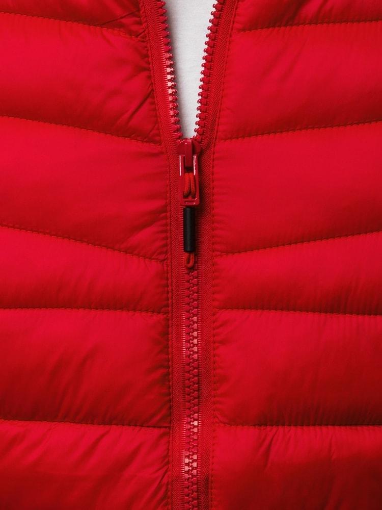 Pánska prešívaná bunda červená OZONEE JS LY07 - Budchlap.sk 165029b8b32