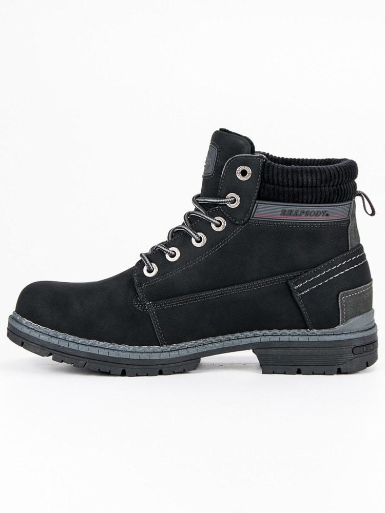 952f9a31f28d7 Perfektné čierne topánky American - Budchlap.sk