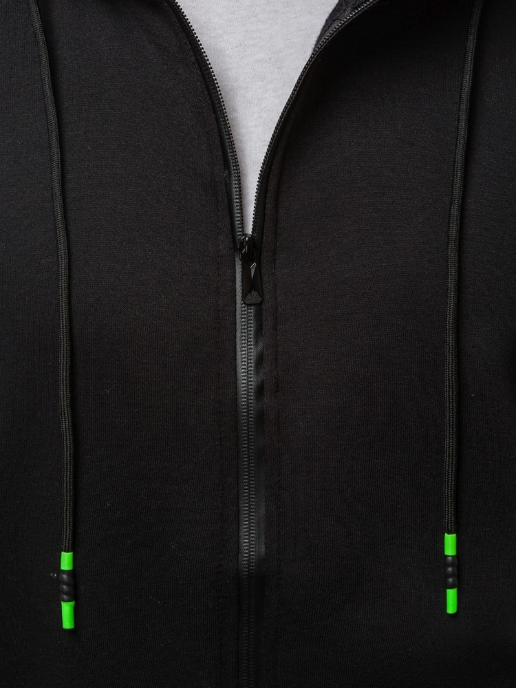 Jednoduchá pánska mikina čierna OZONEE JS 33021 - Budchlap.sk 7b8448e7f2c