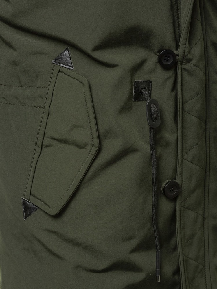 Moderná zelená pánska bunda OZONEE N 5390 - Budchlap.sk 48d509a87cb