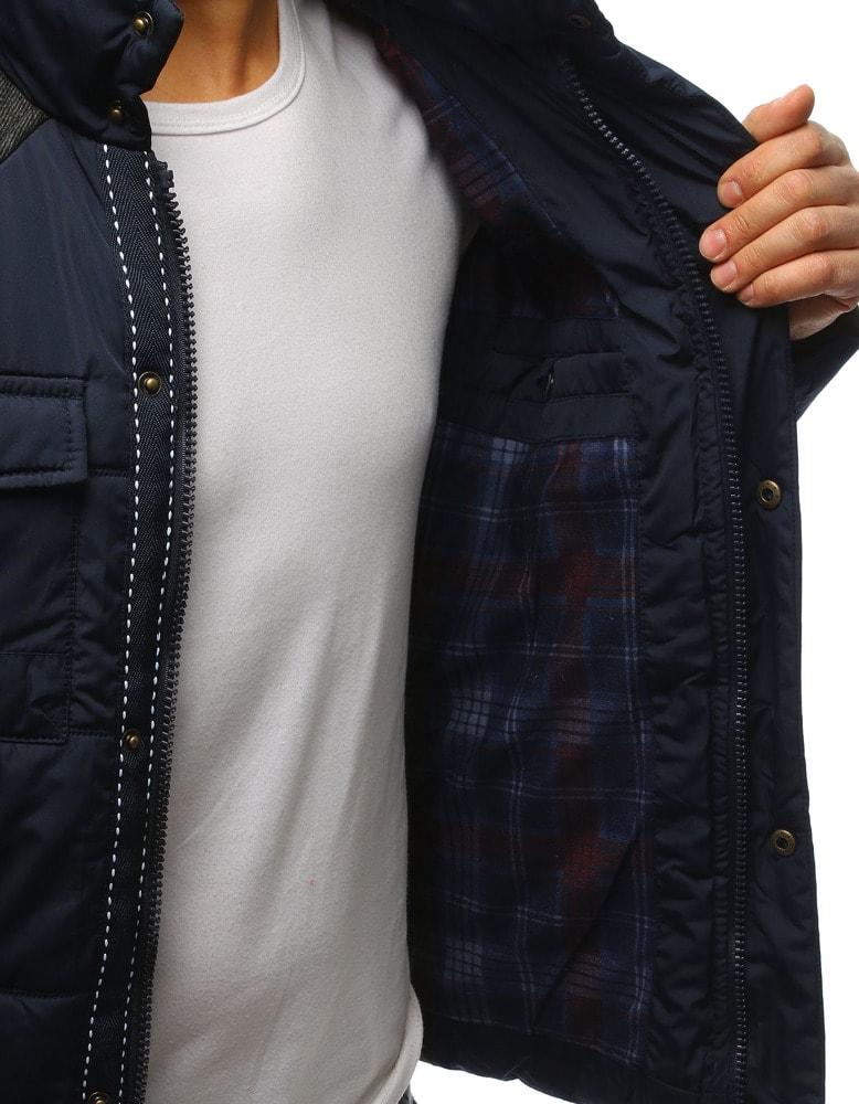 Originálna granátová zimná bunda - Budchlap.sk 4f8d4a586af
