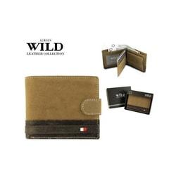 Malá dizajnová pánska peňaženka WILD