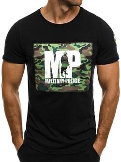 MILITARY POLICE čierne tričko BLACK ROCK 1028/17 - XL