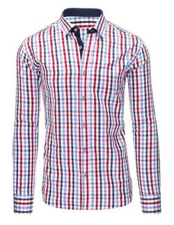 Kockovaná košeľa pre pánov