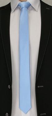 Svetlo-modrá kravata pre pánov