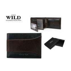 Peňaženka ALWAYS WILD v hnedo-čiernej kombinácii