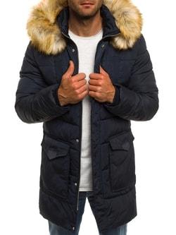 Zimná predĺžená granátová bunda JACK DAVIS 337