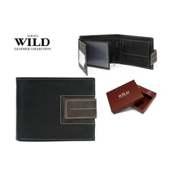 Originálna čierna peňaženka ALWAYS WILD