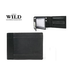ALWAYS WILD kombinovaná šedo-čierna peňaženka