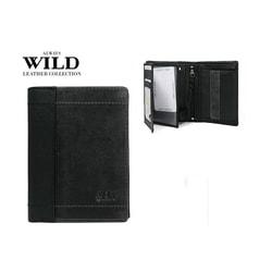 ALWAYS WILD dizajnová šedo-čierna peňaženka