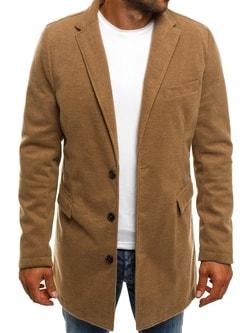 Béžový pánsky kabát J.BOYZ 1047 - L