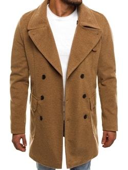Béžový pánsky kabát J.BOYZ 1048