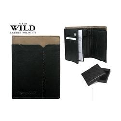 Perfektná peňaženka v čierno-sivej kombinácii ALWAYS WILD