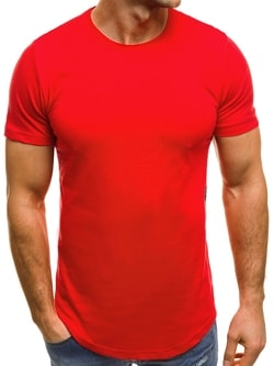 Červené tričko OZONEE B/181227 - XL