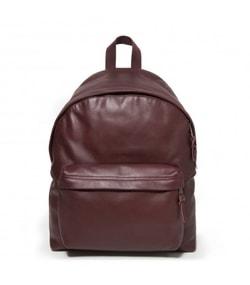 Vínovo červený batoh kožený PADDED PAK'R