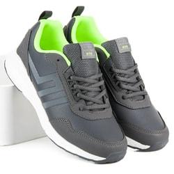 Pánska športová obuv v sivej farbe - 46