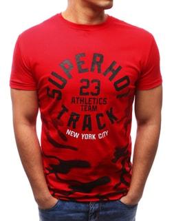 Červené tričko SUPER HOT TRACK - XL