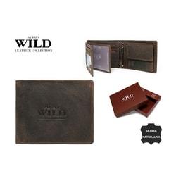 Pánska peňaženka v zaujímavom hnedom prevedení