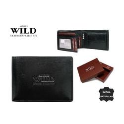 Čierna dizajnová pánska peňaženka