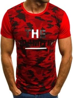 UNLIMITED pánske červené tričko JS/5022 - XL