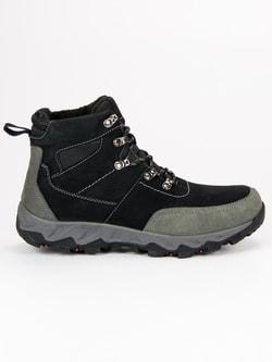 Kožené trekové topánky