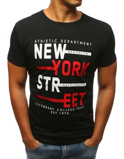 Čierne tričko NEW YORK