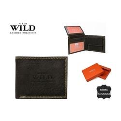 Pánska tmavo-hnedá peňaženka