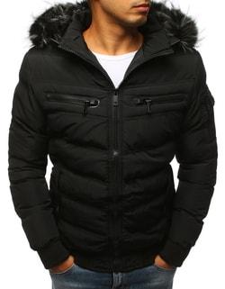 Fantastická čierna bunda na zimu