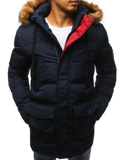 Granátová pánska zimná bunda