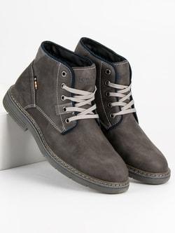 d6bb8203e3 Zimné šedé topánky MCKEYLOR - 42