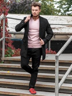Elegantný outfit pre pánov