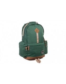 Trekingový pánsky batoh zelenej farby