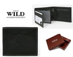 Čierna pánska peňaženka N992-WS